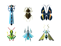 Geometric Insects