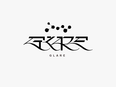 Glare logo illustration vector logo designer branding and identity branding wordmark typeface logotype font lettering typography type kenneth vanoverbeke typography kenneth vanoverbeke