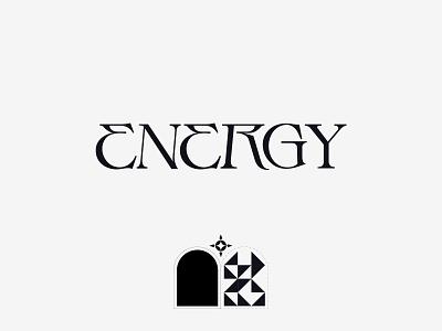 Energy type typography logo design branding beautiful logo beautiful font minimalist logo designer logodesign logos logo logotype wordmark logo wordmark type design typeface design typeface font kenneth vanoverbeke