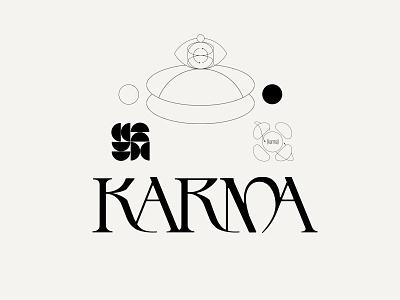 Karma fonts beautiful typography logodesigner identity branding identity wordmark logodesign font design typedesign branding typeface logotype logo typography type kenneth vanoverbeke