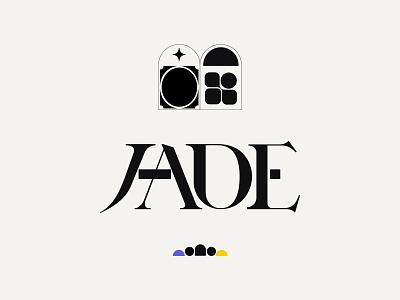 Jade logo design branding and identity logo designer type designer beautiful typography minimal sketch lettering font design typedesign branding typeface logotype typography type logodesign logo kenneth vanoverbeke uwabaki kenneth vanoverbeke