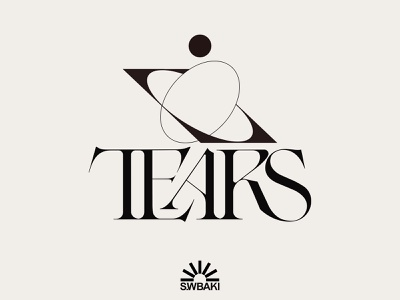 Tears kenneth vanoverbeke uwabaki elegant typography beautiful typography logo designer logotypedesign branding and identity branding design wordmark lettering font design typedesign branding typeface logotype logo typography type kenneth vanoverbeke typography kenneth vanoverbeke