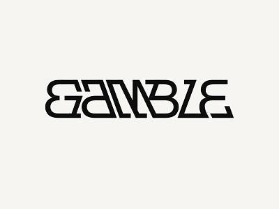 Gamble branding and identity wordmarks wordmark logo desing wordmark logo wordmark lettering font typedesign branding typeface logotype logo typography type kenneth vanoverbeke typography kenneth vanoverbeke