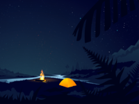 Psst, it's camping time