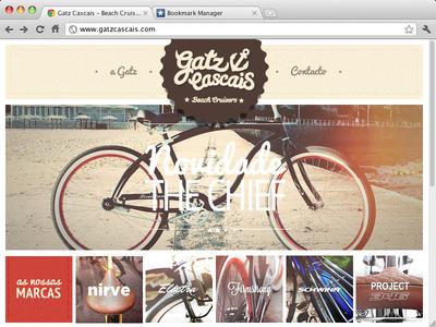 Gatz Cascais Homepage