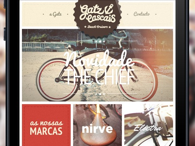 Gatz Cascais Mobile Version