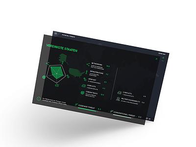 Zero Day informationgraphic threat codewar cyberwar interactivemap coding interactivedesign