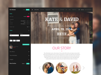 Wedding Website & Dashboard
