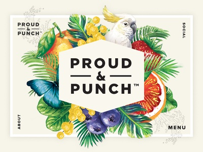 Proud & Punch Website