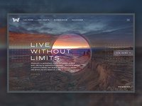 Westworld Website Concept