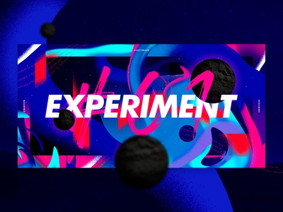 Experiment just make creative sessions space color art baugasm design experiment