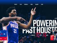 76ers homepage