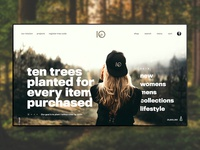 10 Trees Website Concept