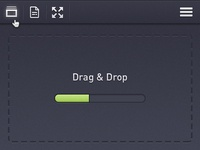 Drag & Drop User Interface