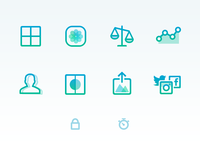 Pushh Website Icons