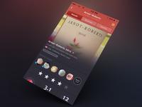 Wine iPhone App - rosé details