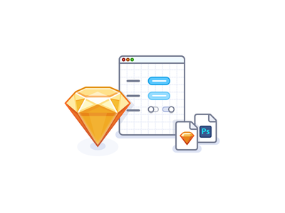 Deliverables icon illustrations illustration stylekit document sketch icon files icons