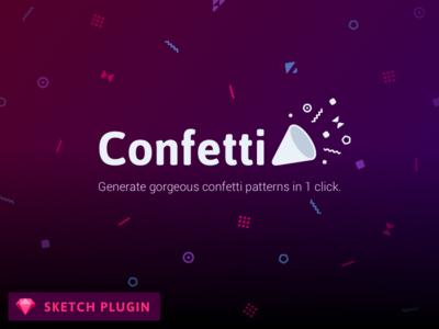Confetti - Sketch Plugin