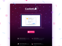 Confetti website