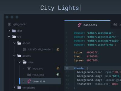 City Lights UI Theme