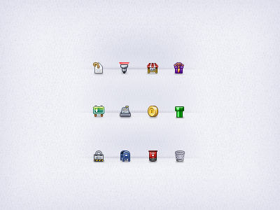 Some 16x16 icons 16x16 16px icons ui