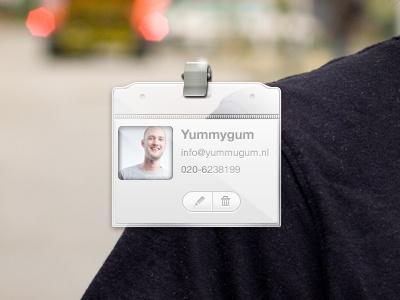 Client V Card v-card vcard client crm