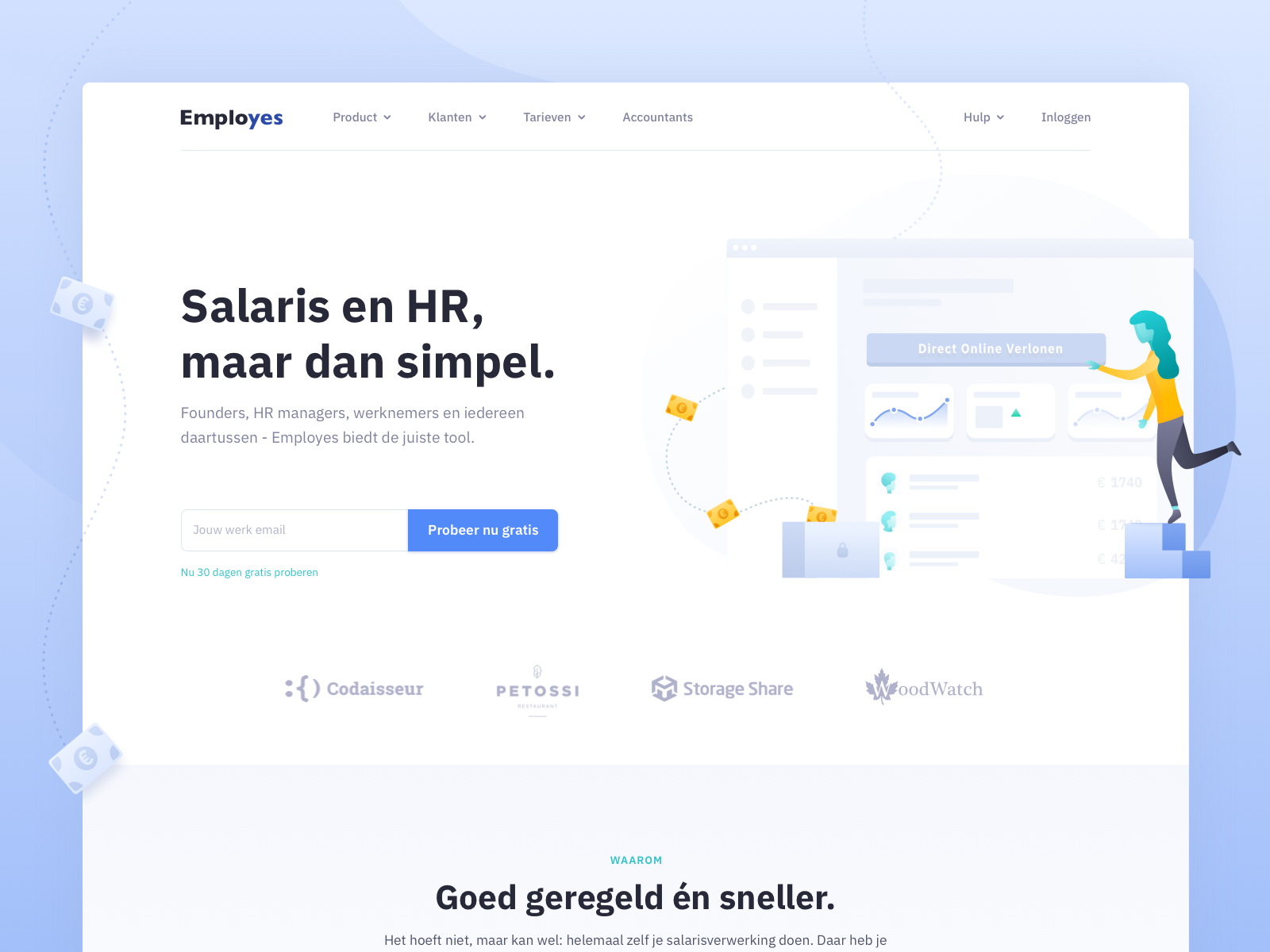 Employes website by yummygum 4x