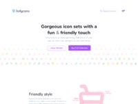 Jollycons website full by yummygum