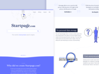 Startpage Landing Page Experience