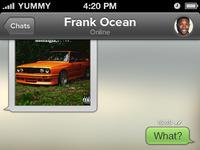 Whatsapp chat frank