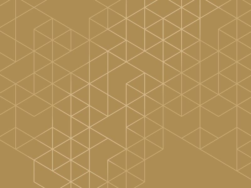 25th anniversary pattern pattern design ngon triangles glow golden pattern