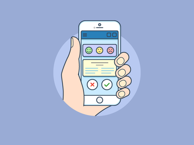 iPhone 6 smartphone ios iphone flat outline line art illustrator illustration vector flat icon day2icon