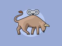 Tiny bull