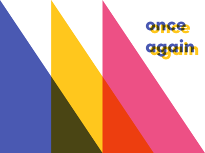 Once Again color text
