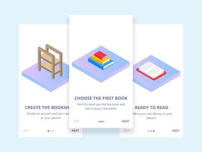 Bookshelf App onboarding app book