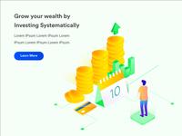 Financial Isometric Illustration #3