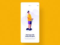 Glow App UI Kit I