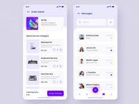 Hi - Social Service App UI KIT II