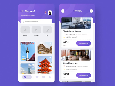 Travo Apps - UI KIT I travel app filters flights hotels mobile motiongraphics ux ui design motion-design ui8 after-effects motion animation