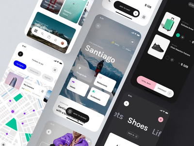 Yle Starter UI Kit II iphone mobile design ux ui motion-design ui8 after-effects motion animation