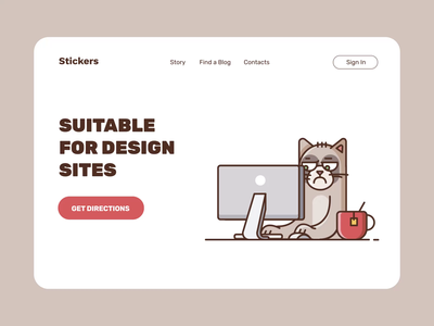 Sticker Pack Animated IV illustration motiongraphics ux ui design motion-design ui8 after-effects motion animation