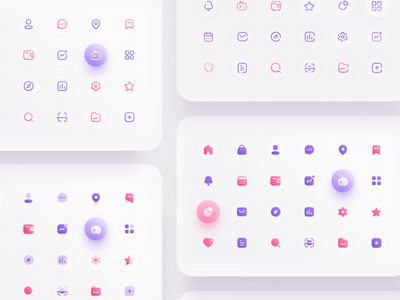 Iconly - Essential icons II icon design freebies iconography icons mobile motiongraphics design motion-design ui8 after-effects motion animation