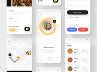Fode-Food App UI Kit II