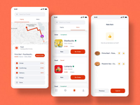 Coody Food iOS UI Kit III illustration mobile ux ui motion-design ui8 after-effects motion animation