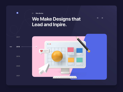 Folio: Agency Portfolio Kit - Years & Principles portfolio site portfolio agency ux ui design motion-design after-effects ui8 motion animation