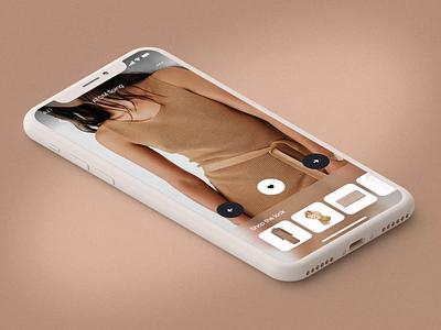 Lookbook fashion app ux design motion-design motion ui after-effects ui8 animation