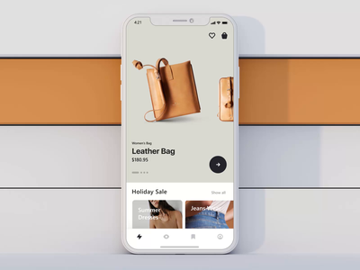 Shopping App fashion app fashion motiongraphics ux ui ui8 after-effects motion-design animation motion