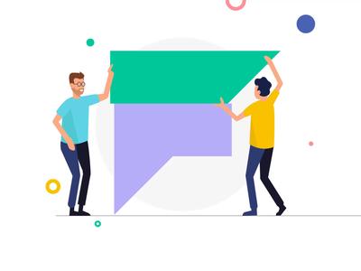 Teamwork & Startup Illustrations II