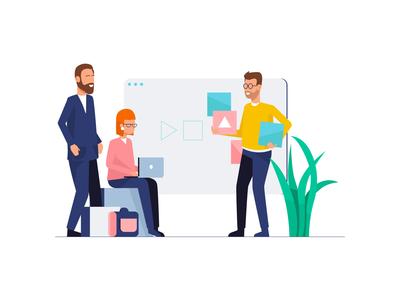Teamwork & Startup Illustrations III