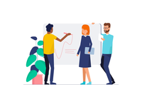 Teamwork & Startup Illustrations V